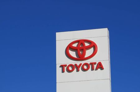 Melbourne Australia - April 24, 2016: Toyota Japanese car manufacturer.