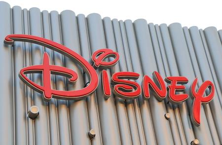 Shanghai China – November 2, 2016: Walt Disney sign