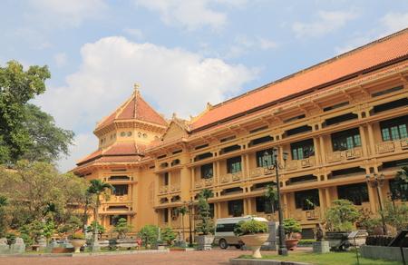 Vietnam National Museum of History in Hanoi Vietnam. Vietnam National Museum of History highlights Vietnam's prehistory up to the 1945 Revolution.