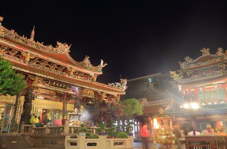 Longshan Temple in Taipei Taiwan 写真素材