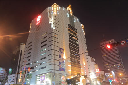Taichung Taiwan - December 10, 2016: Sogo. Sogo is a Japanese department store chain that operates an extensive network of branches in Asia founded in 1831 Editorial