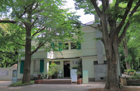 foreigner: Historical Ehrismann Residence in Yokohama Japan. Ehrismann Residence was built in 1927 in Yamate foreign residents area.