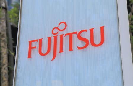 Yokohama Japan - May 29, 2017: Fujitus. Fujitu is a Japanese multinational information technology equipment and services company headquartered in Tokyo Japan.