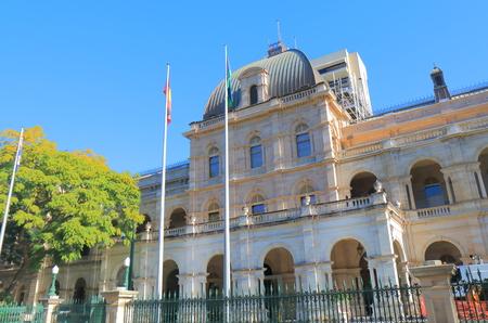 Parliament House historical architecture Brisbane Australia