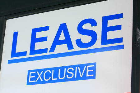 real estate house: Real Estate for lease sign Australia