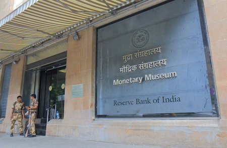 Mumbai India - October 11, 2017: Monetary Museum in Mumbai India. Sajtókép