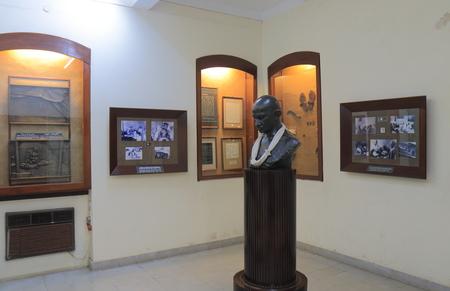 Mumbai India - October 12, 2017: Mani Bhavan Gandi Museum displays history of Mahatma Gandhi in Mumbai India