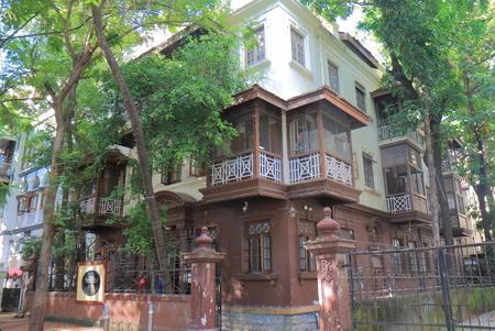 Mani Bhavan Gandi Museum Mumbai India Editorial