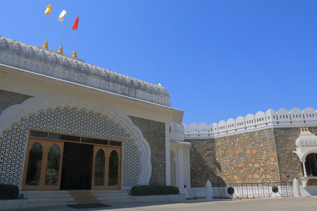 Udaipur India - October 17, 2017: Hall of Heros museum in Udaipur India Editorial
