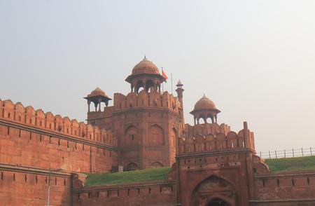 Red fort castle New Delhi India