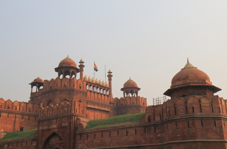 Red fort castle New Delhi India