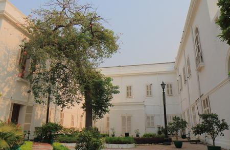 New Delhi India - October 26, 2017: Gandhi Smriti museum in New Delhi India