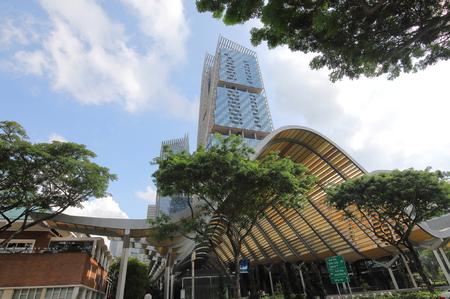 Singapore-November 15, 2018: Esplanade MRT station in Singapore.