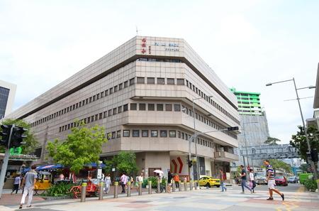 Singapore-November 16, 2018: Unidentified people visit Fu Lu Shou shopping mall in Singapore.