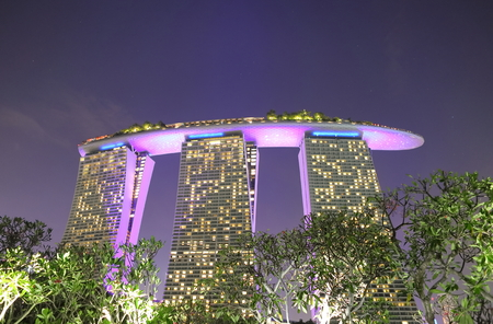Singapore-November 16, 2018: Marina Bay Sands Singapore