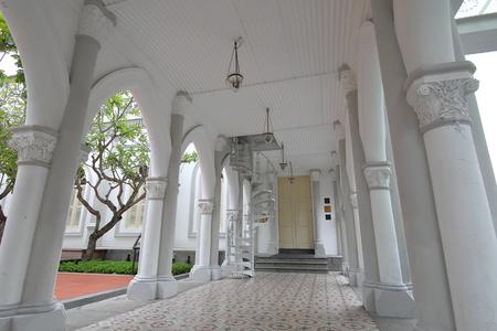 Singapore-November 17, 2018: Chijmes historical architecture Singapore.