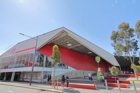 Melbourne Australia - December 1, 2018: Unidentified people visit Costco Super market in Melbourne Australia