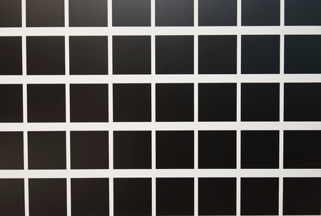 Black square block pattern texture