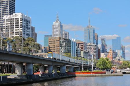 Cityscape Melbourne Australia