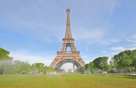 Eiffel tower iconic architecture Paris France