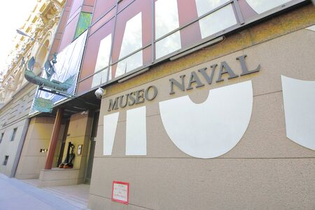 Madrid - May 28, 2019: Navy museum in Madrid Spain Banco de Imagens - 130572965