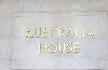 London England - June 2, 2019: Australia High commission house sin London UK