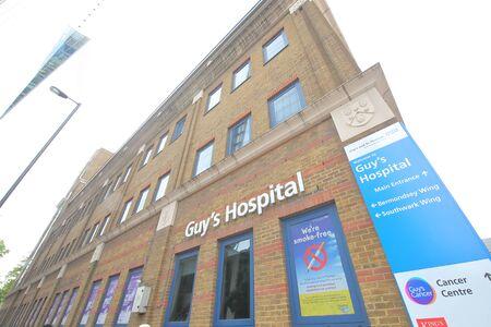 London England - June 2, 2019: Guys Hospital London UK