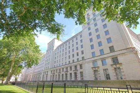 Verteidigungsministerium Gebäude London UK