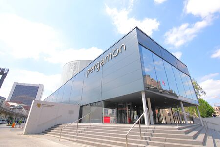 Berlin Germany - June 7, 2019: Pergamon museum Berlin Germany