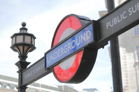 Tube underground subway London UK