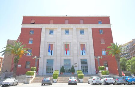 Rome Italy - June 16, 2019: CNR National Research Council office building in Rome Italy Editorial
