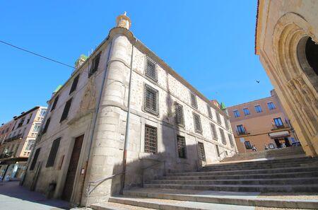 Old library building Segovia Spain