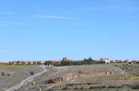 Segovia Spain country town cityscape