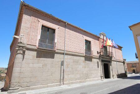 Provincial Government of Segovia office old building Segovia Spain 写真素材