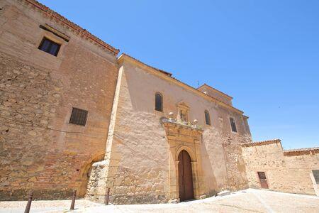 Santo Domingo el Real convent old building Segovia Spain