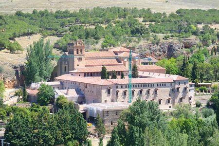 Santa Maria del Parral monastery old building Segovia Spain