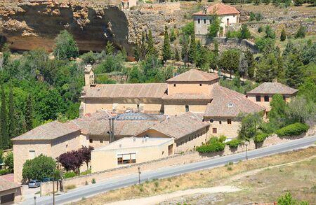 San Juan Cruz de la convent old building Segovia Spain