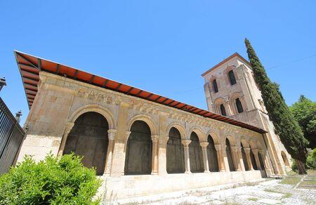 San Juan de los Caballeros church old building Segovia Spain