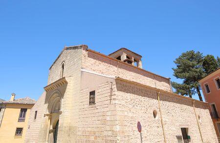 San Sebastian church old building Segovia Spain
