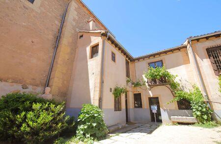 Segovia Spin - May 29, 2019: Antonio Machado House Museum Old Building Sego Via Spin 報道画像