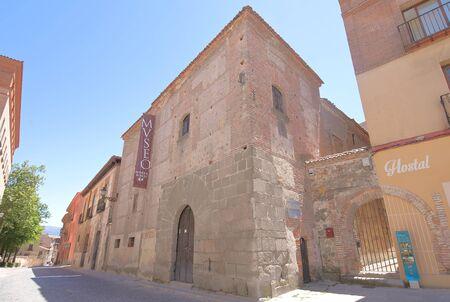 Segovia Spain - May 29, 2019: Museo Rodera Robles Museum Segovia Spain 報道画像