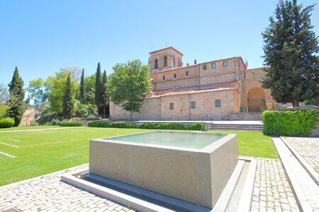 Segovia Spain - May 29, 2019: Zuloaga museum old building Segovia Spain 報道画像