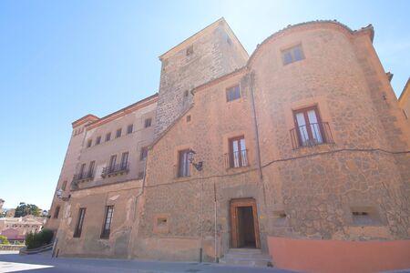 Segovia Spin - May 29, 2019: Casa de Las Cadenas House Old Building Segovia