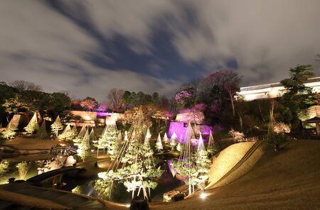 Gyokusenin Maru garden right up Kanazawa castle park Kanazawa Japan