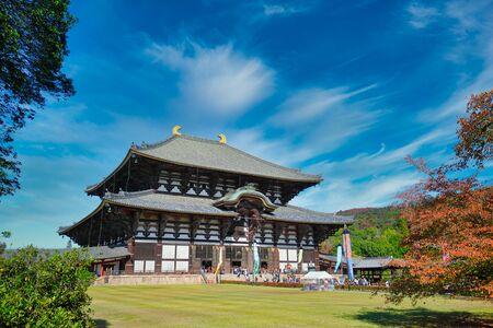 Icónico templo Todaiji Nara Japón