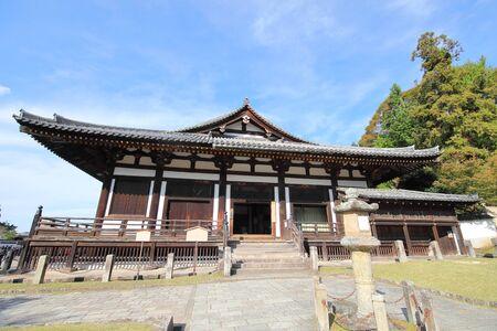 Todaiji temple Hokkedo Nara Japan