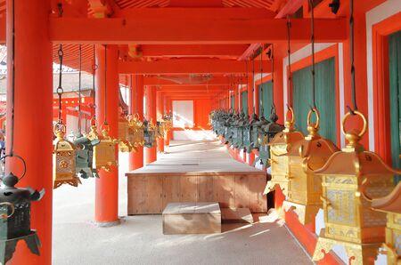 Kasuga Taisha shrine Nara park Nara Japan 報道画像