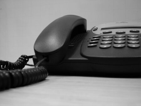 landlines: phone Stock Photo