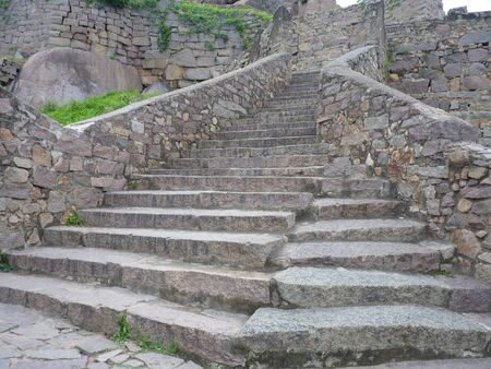 Staircase of old Indian Fort