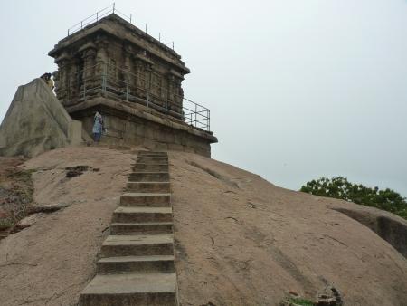 Mahishasura Mardini , Mahabalipuram Stock Photo